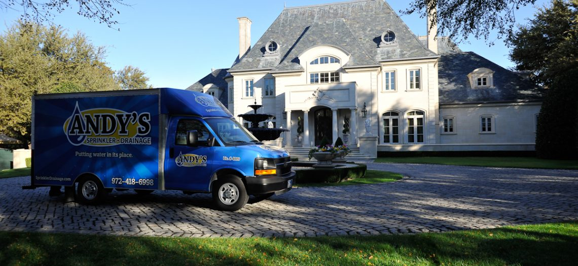 Andy's Sprinkler Drainage and Lighting Franchise